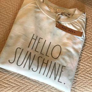 Rae Dunn Hello Sunshine long sleeve shirt